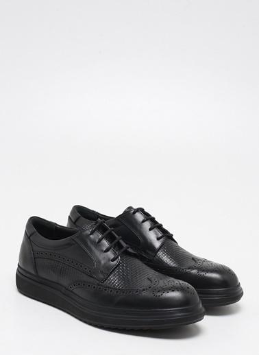 F By Fabrika Erkek Siyah Ayakkabı PASCAL Siyah